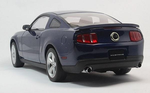 โมเดลรถ โมเดลรถเหล็ก โมเดลรถยนต์ Ford GT 2010 navy 3