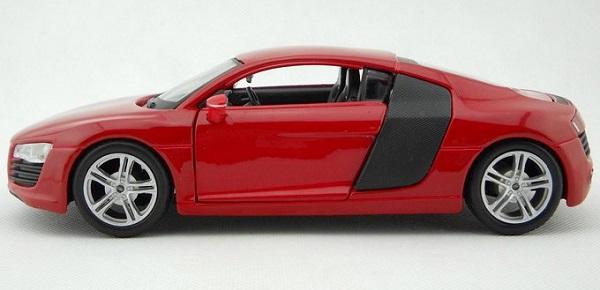 โมเดลรถ โมเดลรถเหล็ก โมเดลรถยนต์ audi r8 red 3