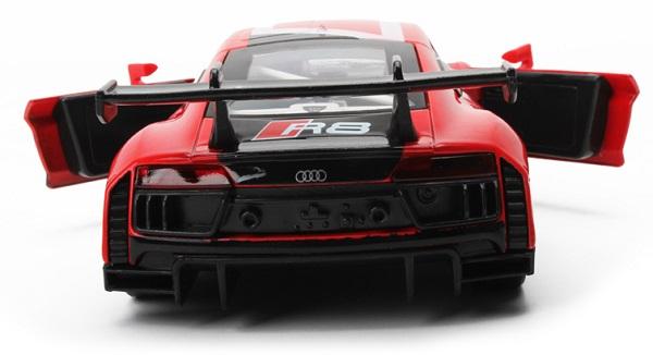 โมเดลรถเหล็ก โมเดลรถยนต์ Audi R8 LMS 6