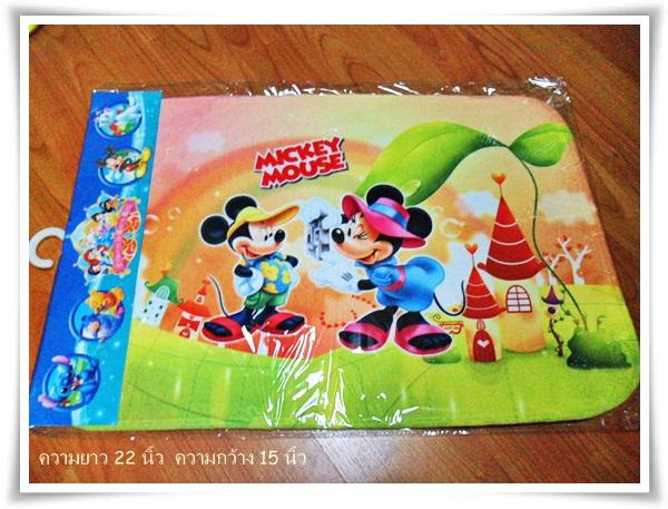 พรมเช็ดเท้า ลายมิกกี้เมาส์ Mickey mouse