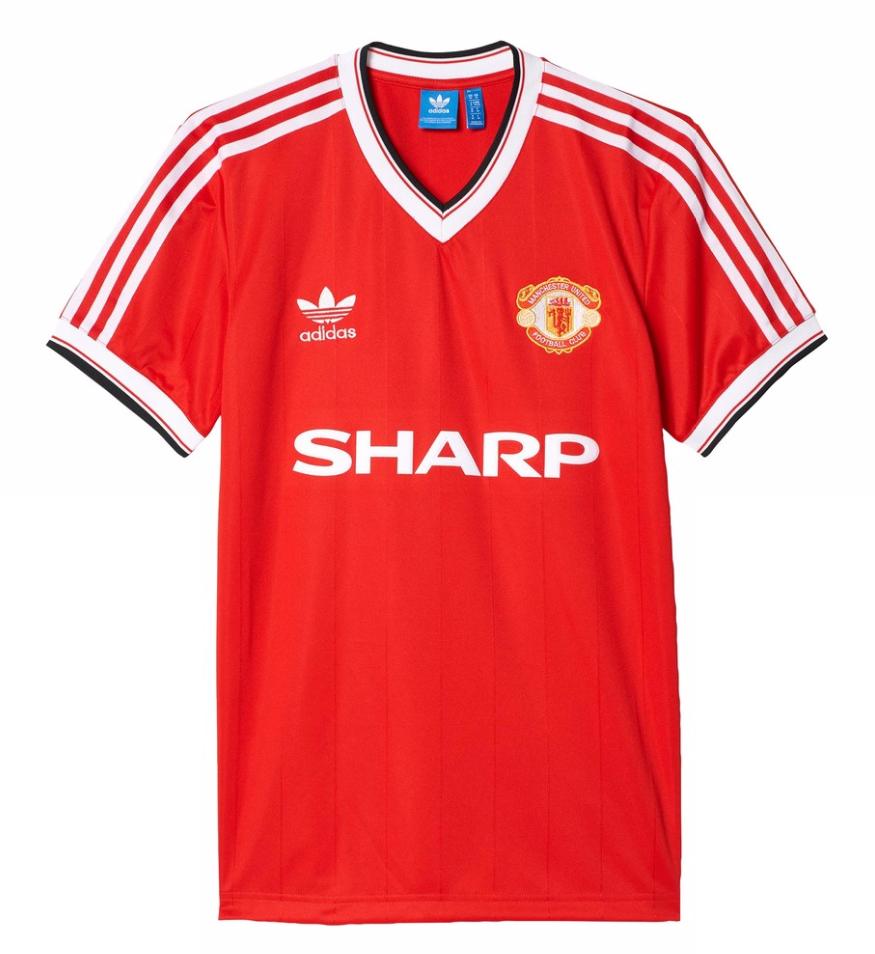 เสื้ออดิดาสแมนเชสเตอร์ ยูไนเต็ด Originals 1984 Jersey ของแท้