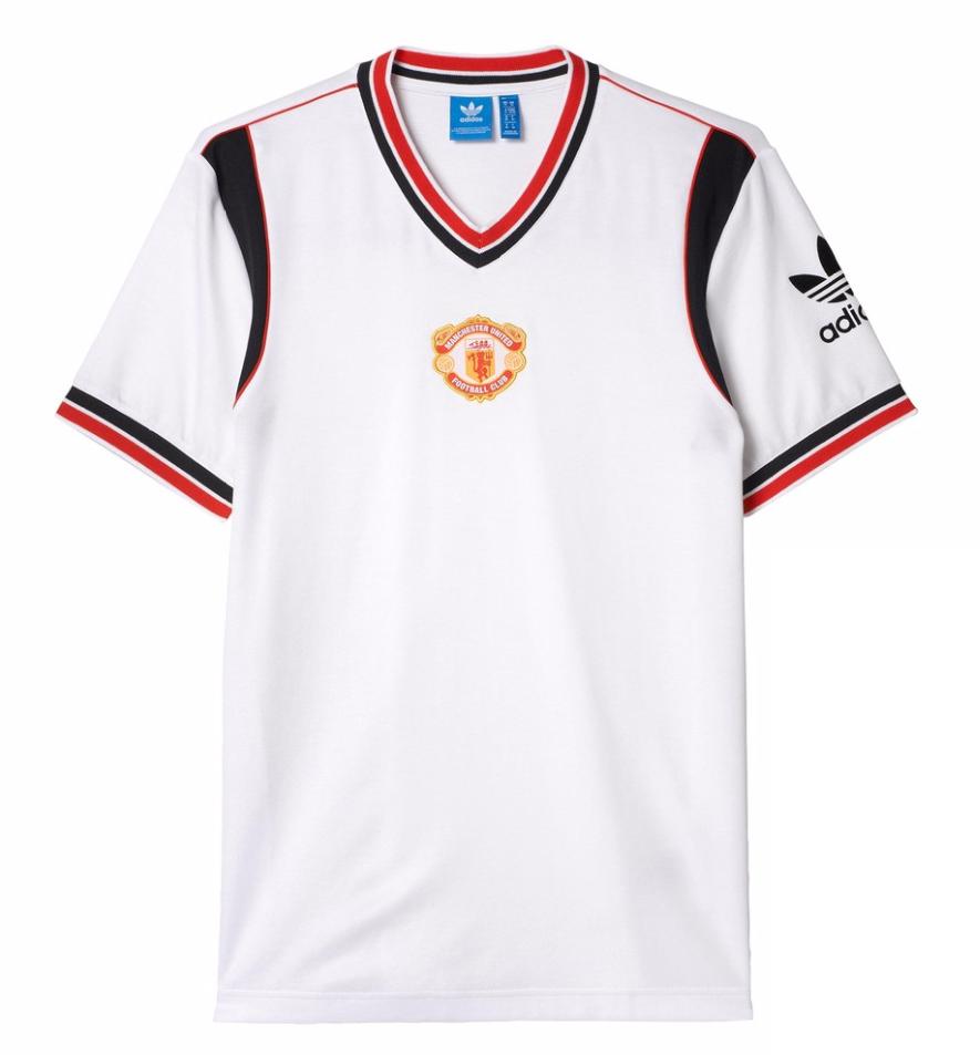 เสื้ออดิดาสแมนเชสเตอร์ ยูไนเต็ด Originals 1985 Jersey ของแท้