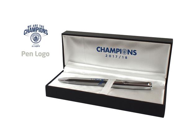 ปากกาแมนเชสเตอร์ ซิตี้ Our City Champions ของแท้