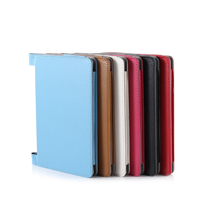 เคส Lenovo Yoga Tablet 2 8″ (830) รุ่น PU Leather Case