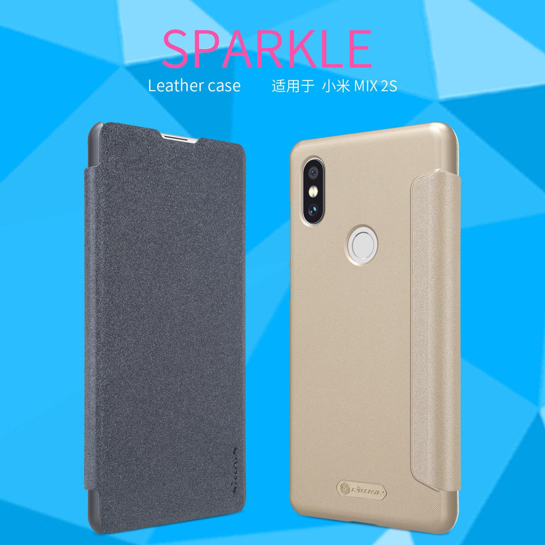 NILLKIN เคส Xiaomi Mi Mix 2S รุ่น Sparkle Leather Case แท้ !!