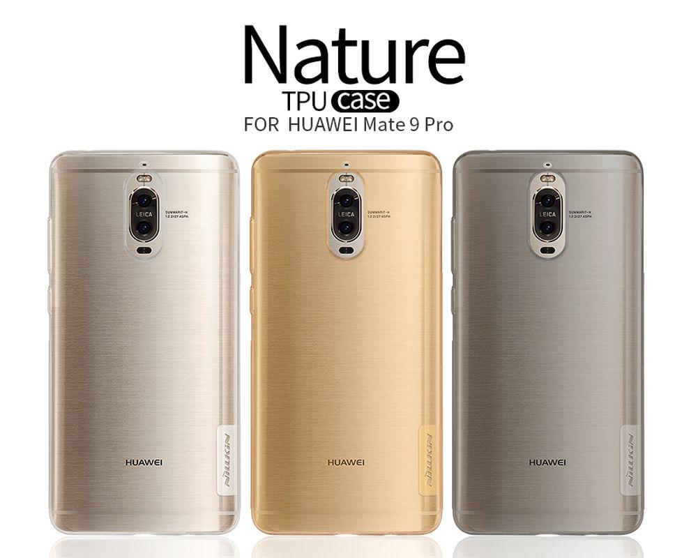 Nillkin Nature Slim Clear TPU Case Cover for Huawei Mate 9 Pro