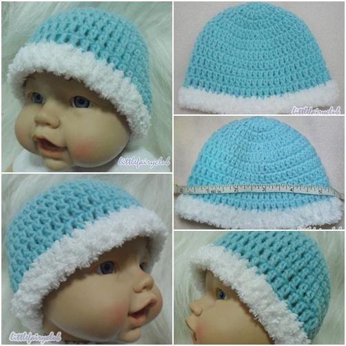 หมวกถักทารกคลอดก่อนกำหนด