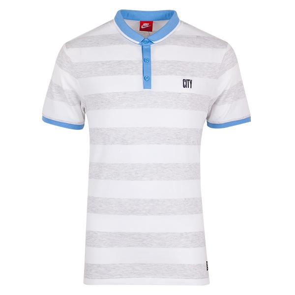 เสื้อโปโลแมนเชสเตอร์ ซิตี้ของแท้ Manchester City League Covert Polo - White
