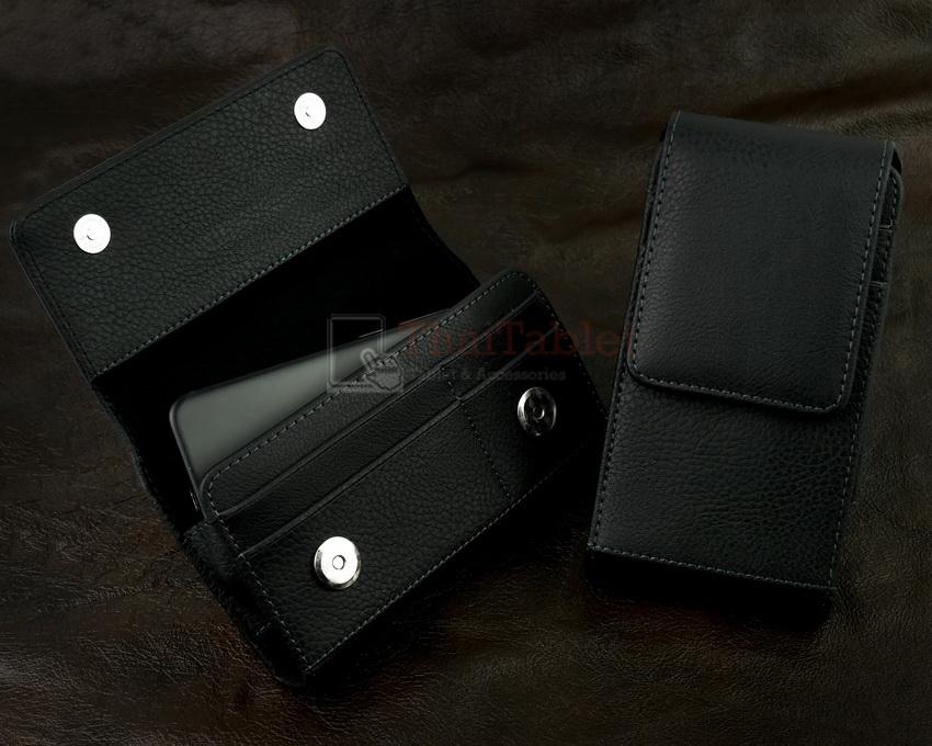 """กระเป๋าคาดเอว 2 ชั้น สำหรับ iPhone Samsung มือถือทุกรุ่นขนาดไม่เกิน 5.5"""""""