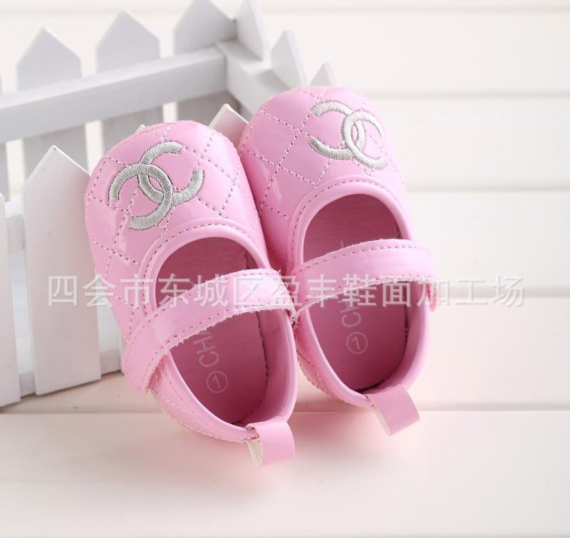 (Sale - size 2) รองเท้าอ CHANEL (ชมพู)