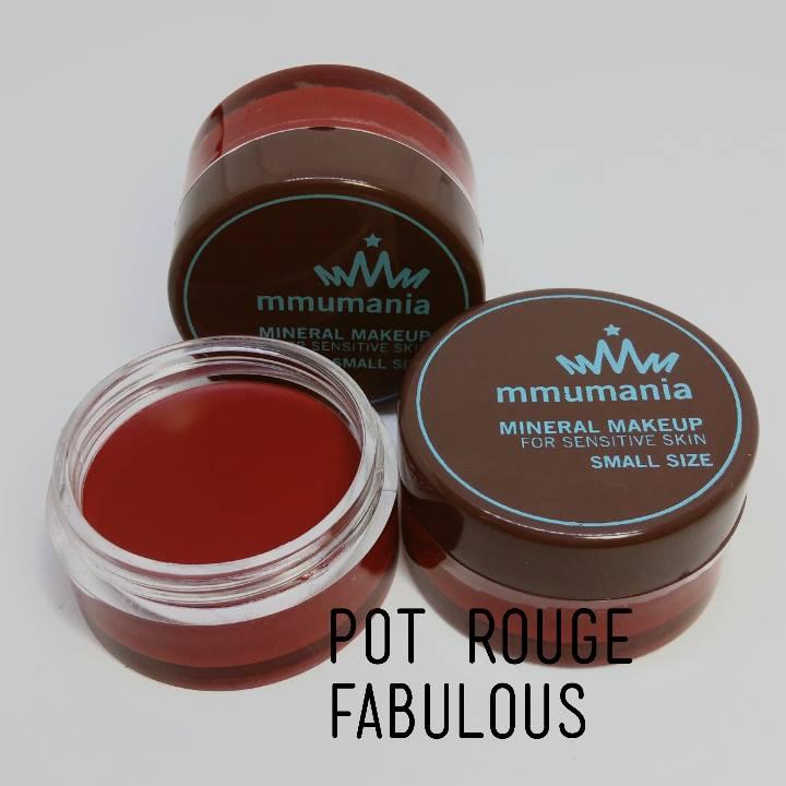 MMUMANIA Pot Rouge สี Fabulous ลิปสติกเนื้อแมท สีแดงเข้ม