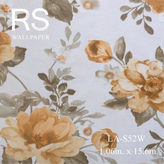 วอลเปเปอร์ลายดอกไม้ LA-S52W