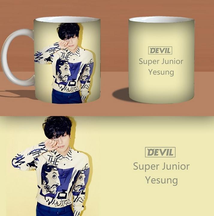 แก้วมัค SUPER JUNIOR : DEVIL เยซอง