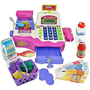 ชุดแคชเชียร์ตั้งโต๊ะ Cash register 8 ส่งฟรีพัสดุไปรษณีย์