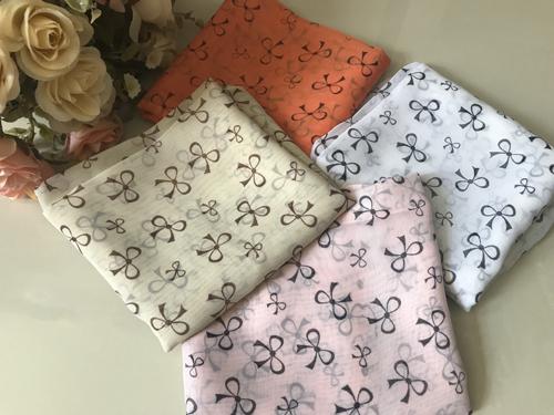 ผ้าพันคอ ชีฟอง สกรีนลาย Chiffon CF01-062