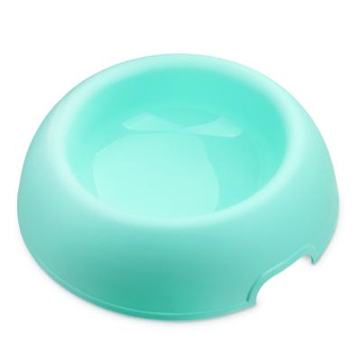 ชามอาหารสุนัข รุ่น Donut สี Aqua ขนาด 25x6.7cm (M)