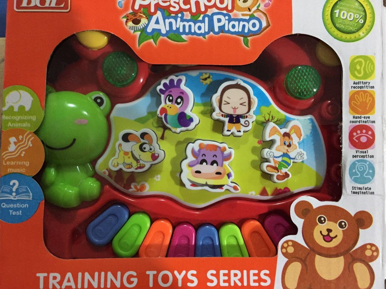 ออแกนเพลง / เสียงสัตว์ สำหรับเด็กเล็ก