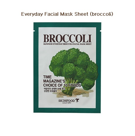Skinfood Everyday Broccoli Facial Mask Sheet