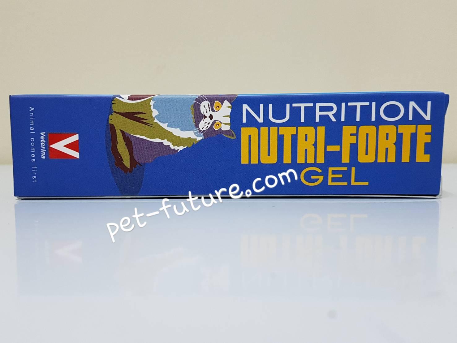 Nutri-Forte Gel อาหารเสริมสำหรับสุนัขและแมวทุกขนาดและอายุ ขนาด 100 g. Exp.05/18