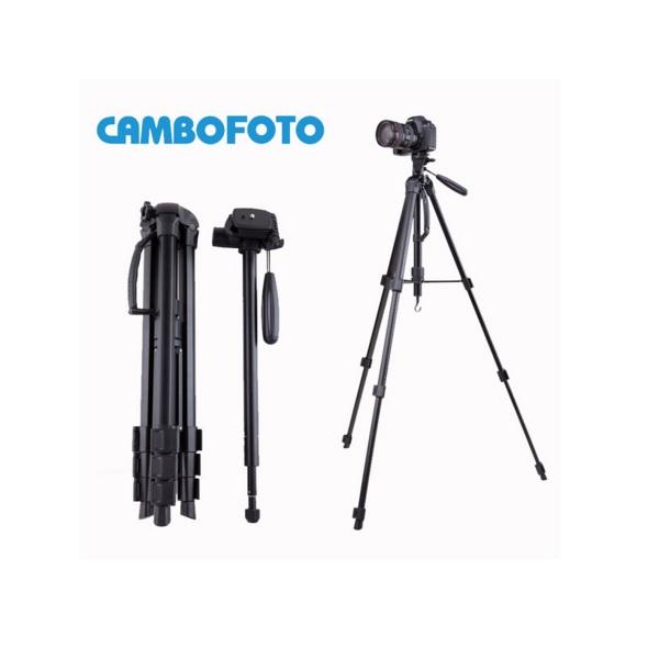 ขาตั้งกล้องTripod+monopod CAMBOFOTO รุ่นSAB264หัวแพน หมุนได้360 องศา