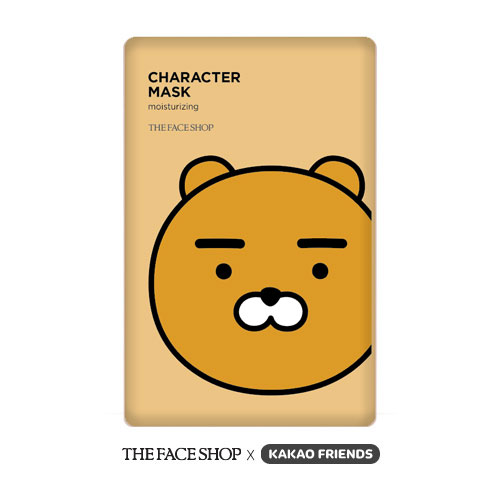 The Face Shop Character Mask Kakao Friends #RYAN