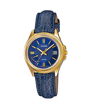 นาฬิกาข้อมือผู้หญิงCasioของแท้ LTP-E115GBL-2AVDF