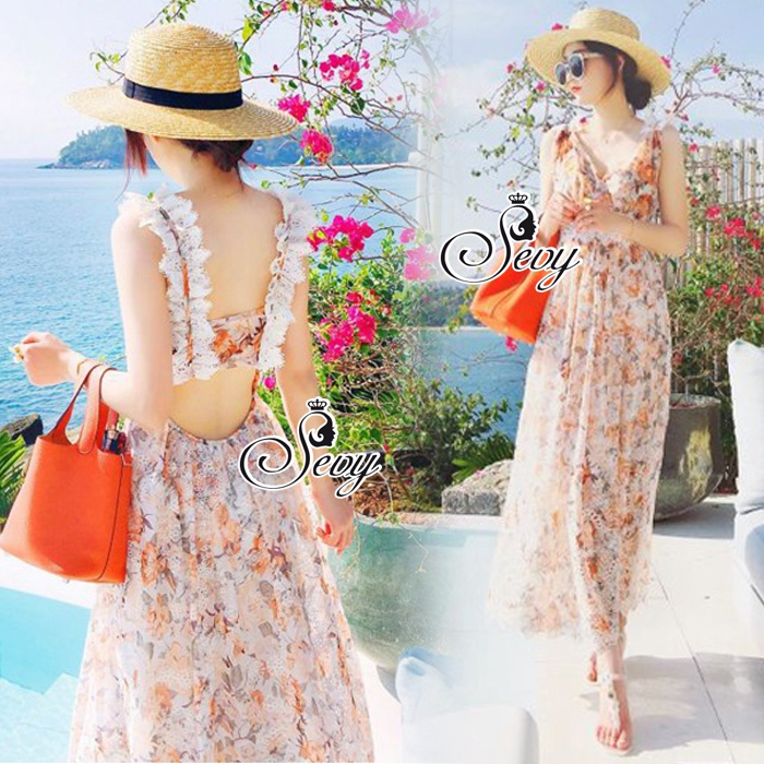 Summer Sweet Dolly Maxi Dress
