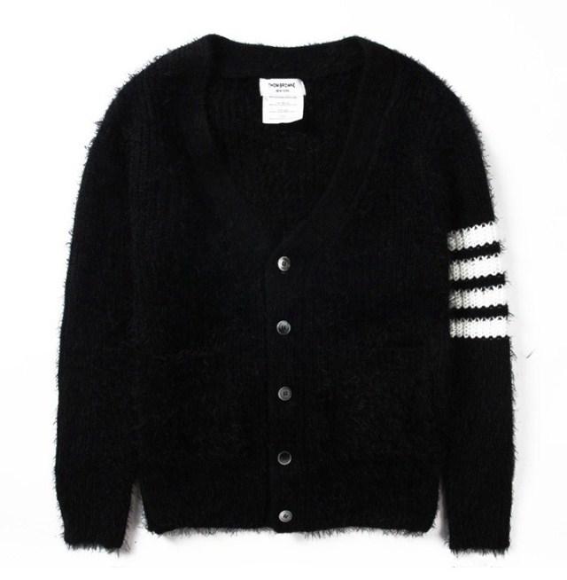 เสื้อThom Browne Stiped Crew Sweater