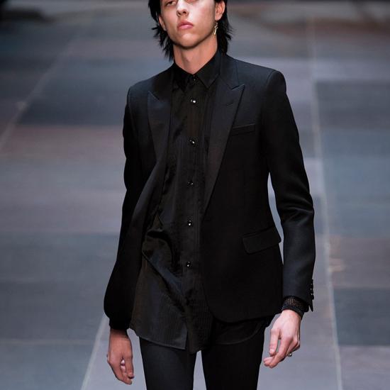 เสื้อSaint Laurent Classic Blazer (Engraved Grade 1:1)