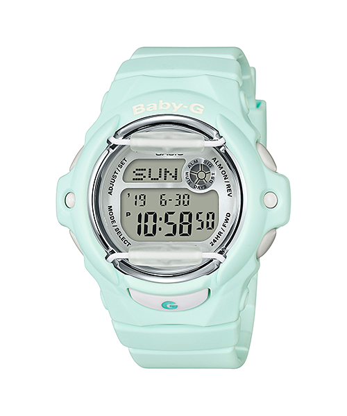 BaByG Baby-Gของแท้ ประกันศูนย์ BG-169R-3 เบบี้จี นาฬิกา ราคาถูก ไม่เกิน สามพัน