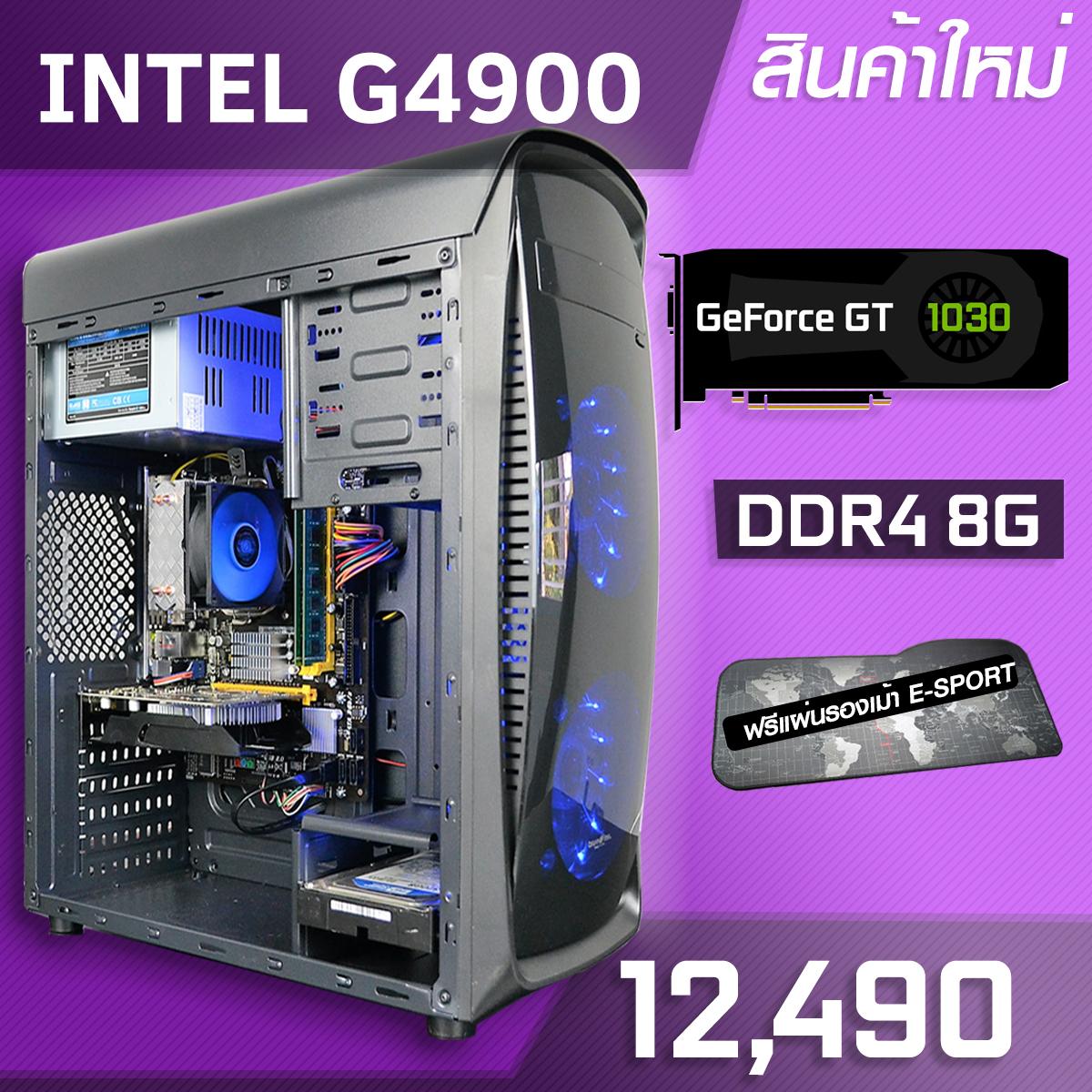 INTEL G4900 | DDR4 BUS 2400 8G | GT1030 | 1TB 7200RPM