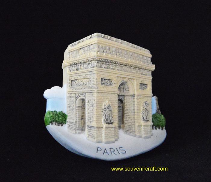 ประตูชัย ปารีส ฝรั่งเศส The Arc de Triomphe French
