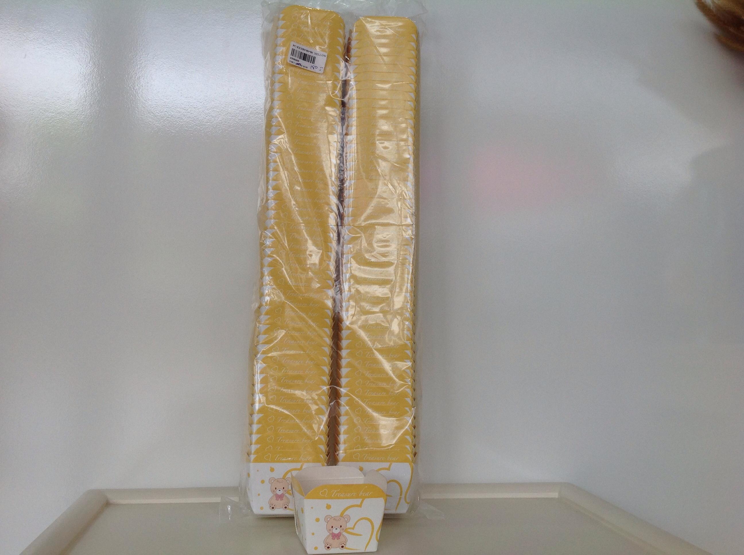 PC-EXY50x50x50 Yellow Bear
