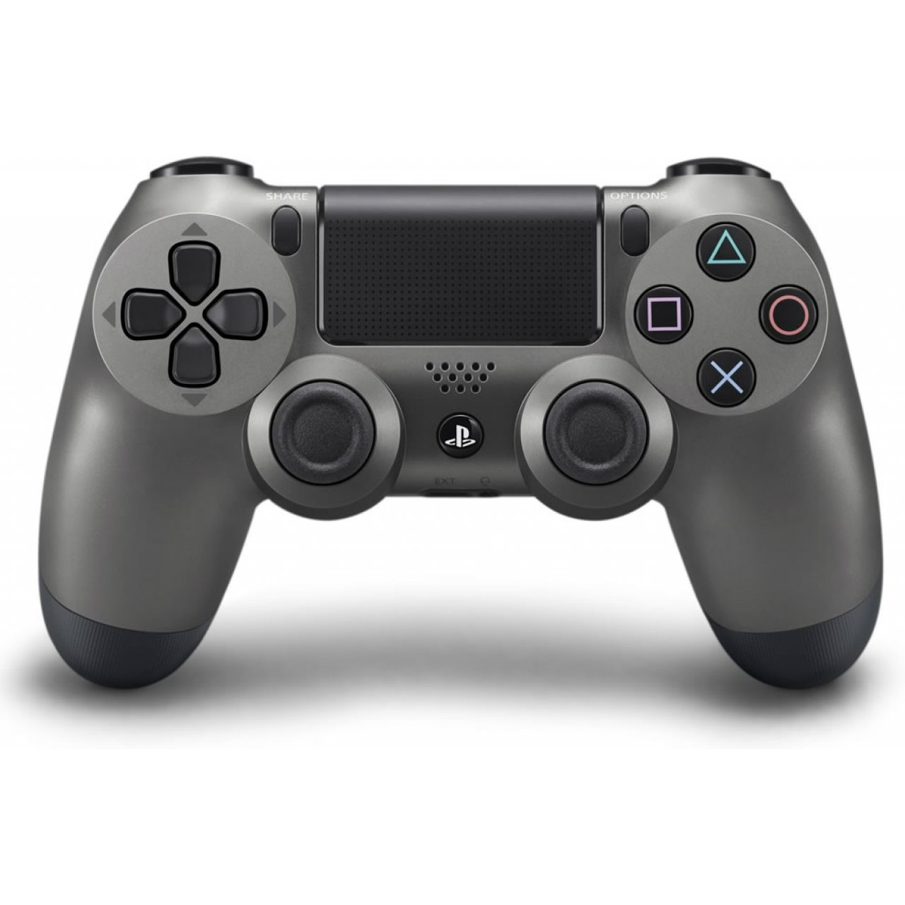 จอย PS4: Dual Shock 4 Steel Black (Warranty 3 Month)
