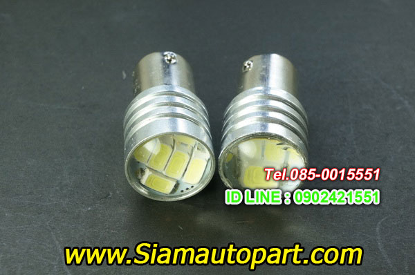 LED-1157-6SMD-หัวเลนส์-ไฟท้ายหรี่เบรคกระพริบ