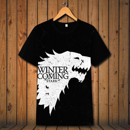 Preorder เสื้อยืด GAME of thrones ver 1