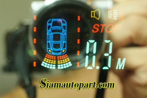 เซ็นเซอร์ถอยหลังราคาถูกแบบกระจกมองหลังรุ่น Mirror 2