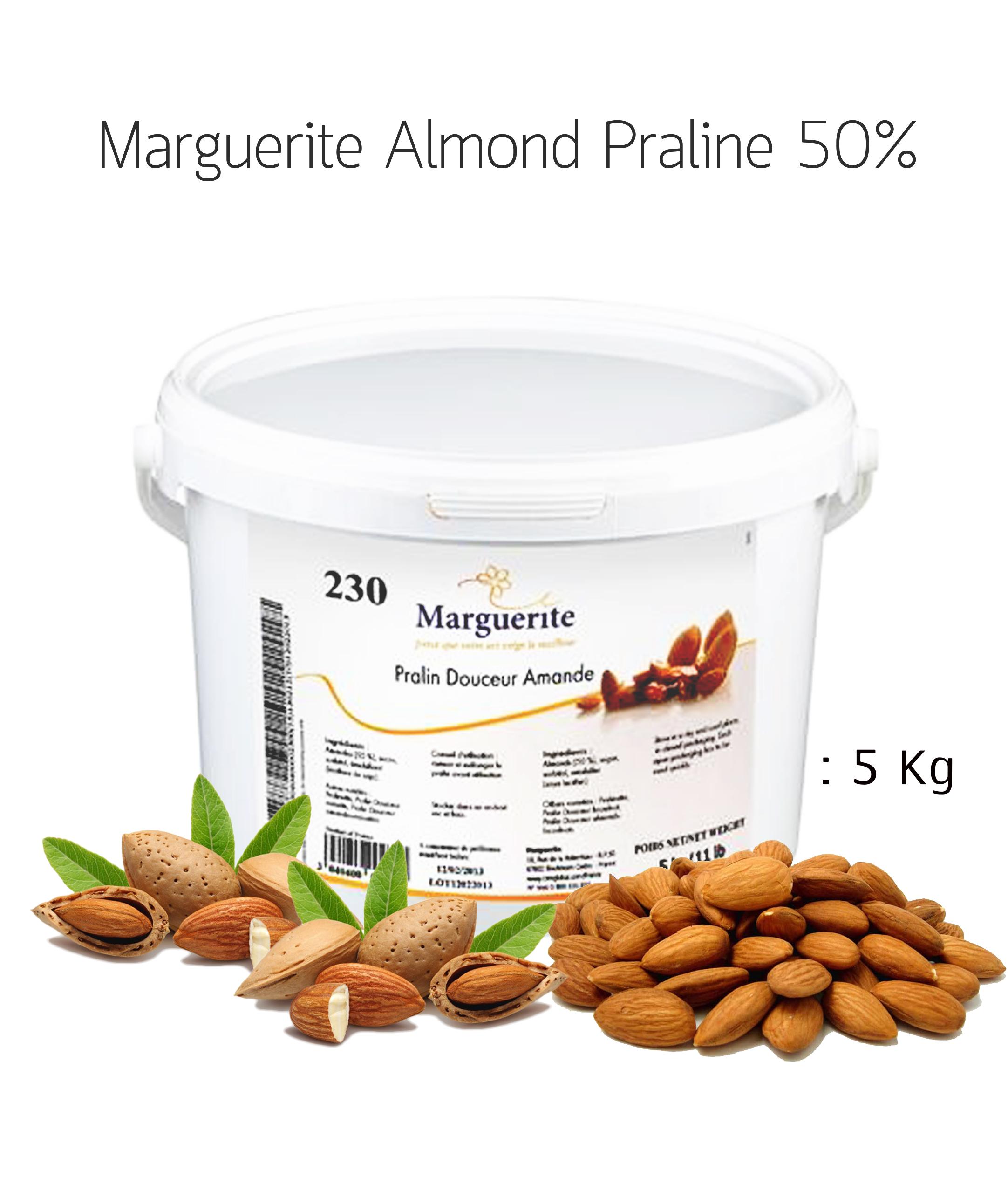 Marguerite Almond Praline 50% 5kg