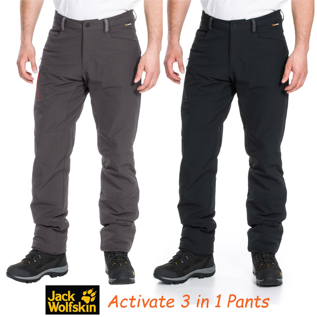 JACK WOLFSKINS ACTIVATE 3 in 1 PANTS