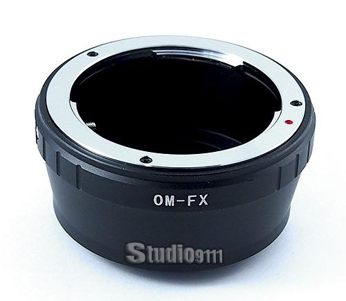 อแดปเตอร์แปลงท้ายเลนส์ OM (OLYMPUS)ใช้กับกล้อง FUJI X