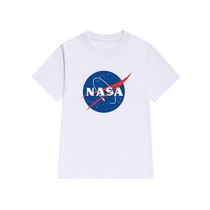 NASA MEATBALL LOGO WHITE T-SHIRT
