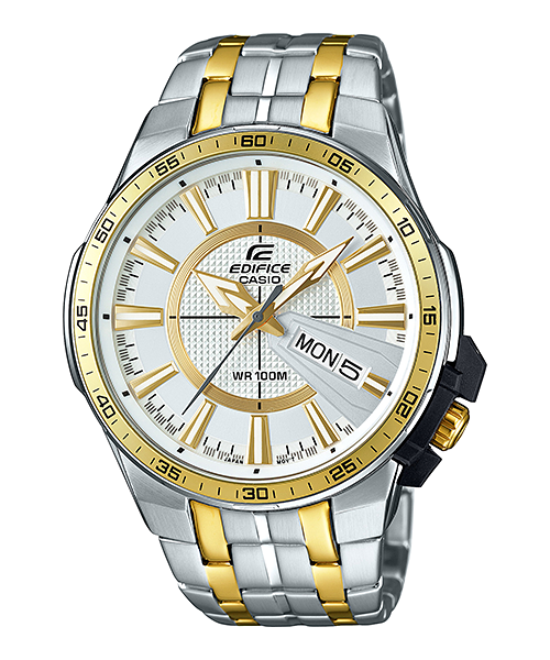 นาฬิกา คาสิโอ Casio Edifice 3-Hand Analog รุ่น EFR-106SG-7A9V สินค้าใหม่ ของแท้ ราคาถูก พร้อมใบรับประกัน