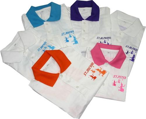 เสิื้อกีฬาผ้า Cotton20คอปกโปโล