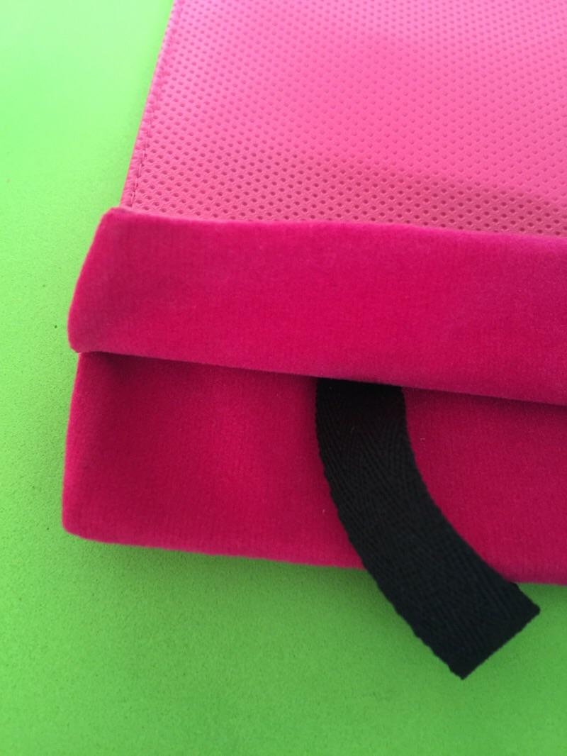 ซองใสแบตสำรอง Eloop และ โทรศัพท์มือถือ สีชุมพู (สีบานเย็น) หนัง ราคา ปกติ 90 บาท เหลือ 80 บาท