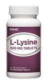 จีเอ็นซี แอล-ไลซีน 500 มก. 100 Vegetarian Tablets Code: 010712 เลขทะเบียน อย. 10-3-02940-1-0094