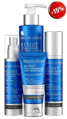 PAULA'S CHOICE RESIST Simple Kit for Wrinkles + Sun Damage