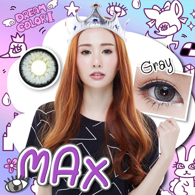 สั้น/Power -350 Max Gray Dreamcon Mini size