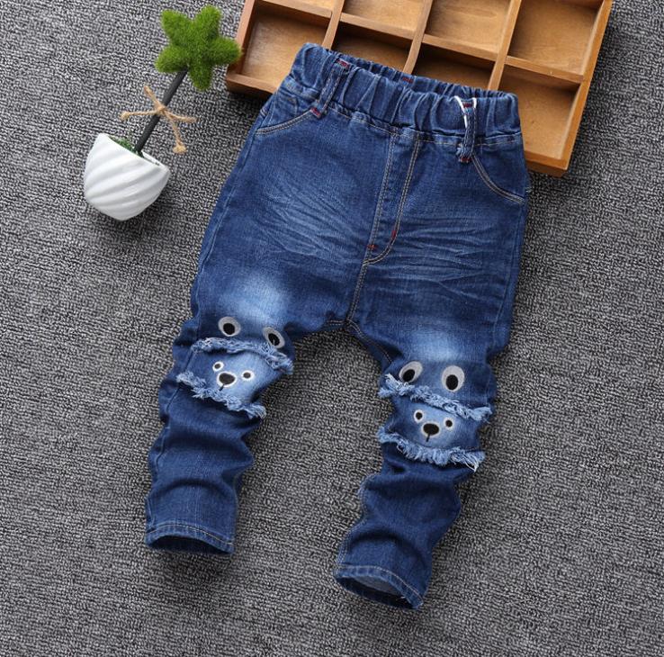 **กางเกงยีนต์ขายาวหมีโคล่า | ตามรูป | L-4XL | 5ตัว/แพ๊ค | เฉลี่ย 160/ตัว
