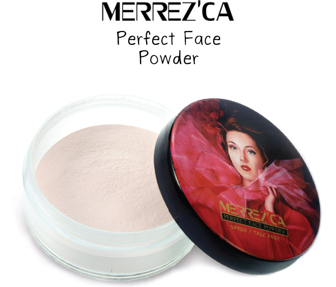 Merrez'ca Perfect Face Powder SPF25 #21 ผิวขาว