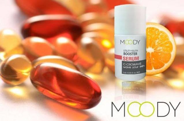 Moody Utility Youth Booster Serum 3 ml. เซรั่มวิตามิน ซี สกัดจากธรรมชาติ